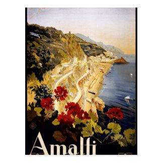Amalfi, Italia Postcard