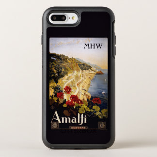 Amalfi Italy custom monogram phone cases