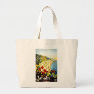 Amalfi, Italy Large Tote Bag