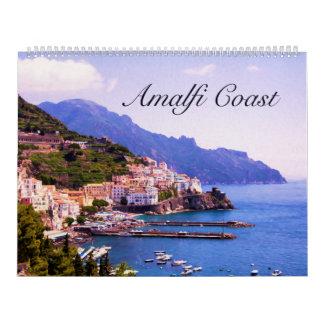 Amalfi, Positano Wall Calendar Large