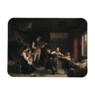 Amalia Lindegren - Sunday Evening in a Farmhouse i Magnet