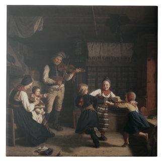 Amalia Lindegren - Sunday Evening in a Farmhouse i Tile