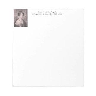 Amalie Friederike Augusta c1825 Notepad