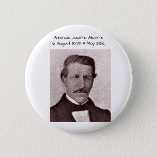 Amancio Jacinto Alcorta 6 Cm Round Badge