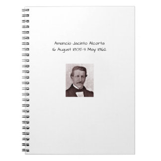 Amancio Jacinto Alcorta Notebooks