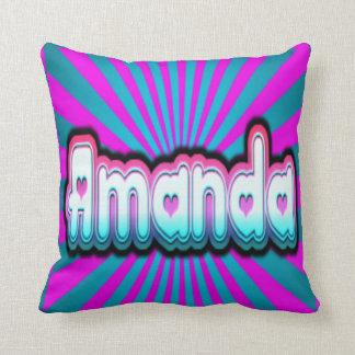 amanda burst throw pillow