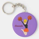 Amanda_Cheerleader Keychain