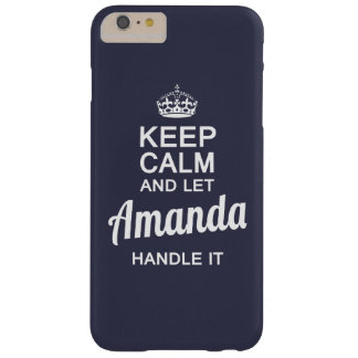 Amanda handle it ! barely there iPhone 6 plus case