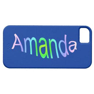 Amanda iPhone 5 Cover