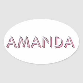 Amanda sticker