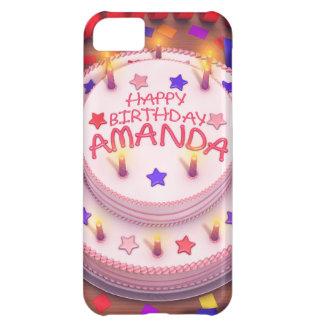 Amanda's Birthday Cake iPhone 5C Case