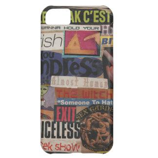 Amanda's magazine & cardboard picture collage #12 iPhone 5C case