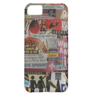 Amanda's magazine & cardboard picture collage #17 iPhone 5C case