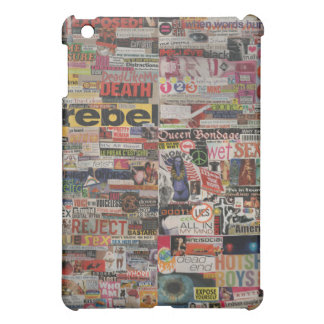 Amanda's magazine & cardboard picture collage #22 iPad mini case