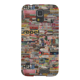 Amanda's word collage craft paper cardboard #24 case for galaxy s5