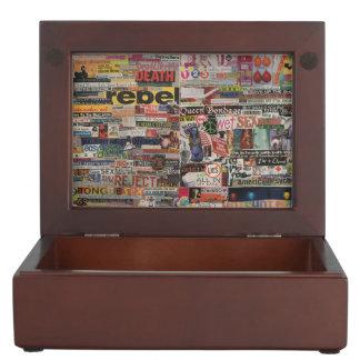Amanda's word collage craft paper cardboard #24 keepsake box