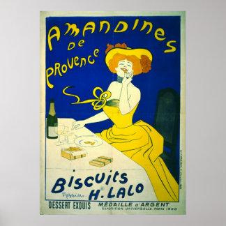 Amandines de Provence 1900 Poster