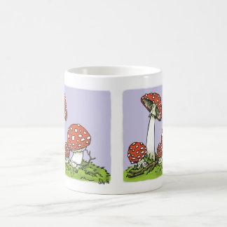 Amanita Mushroom Color Changing Mug