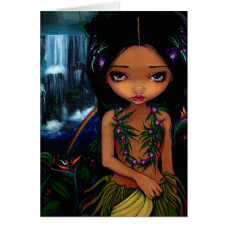 """Amara"" Greeting Card"