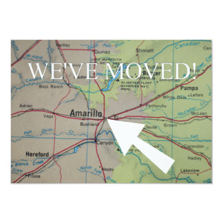 Amarillo We've Moved New Address Announcement