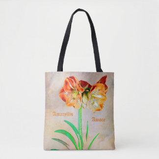Amaryllis Amore Tote Bag