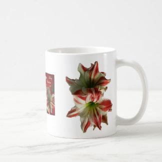 Amaryllis Christmas Mug