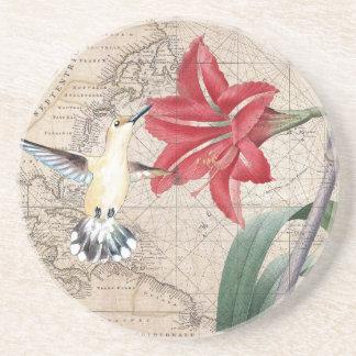 Amaryllis Mao Hummer Coaster