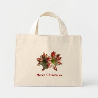Amaryllis Merry Christmas Tote Bag