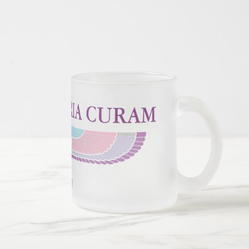 Amat Victoria Curam Coffee Mugs