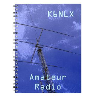Amateur Radio Call Sign Notebook