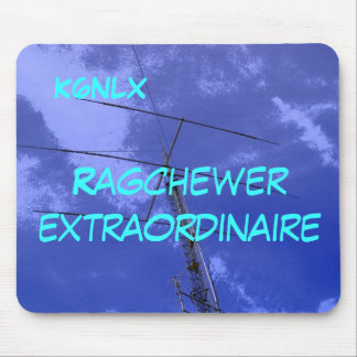 Amateur Radio Call Sign Ragchew Mousepad