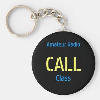 Amateur Radio Callsign Keychain