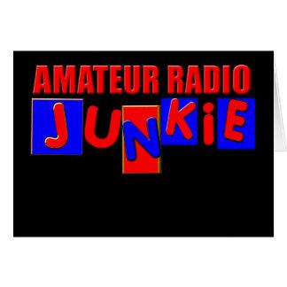 amateur radio card