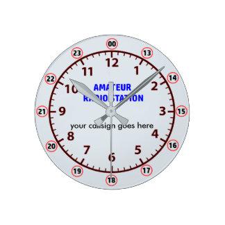 Amateur Radio Station clock