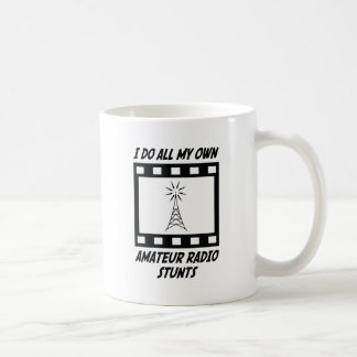 Amateur Radio Stunts Coffee Mugs