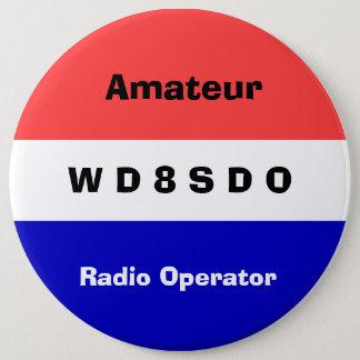 Amatuer radio Operator Badge