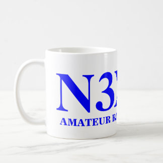 Amature Radio Operator Basic White Mug