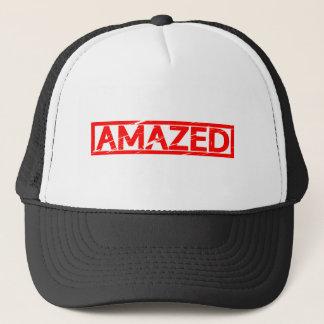 Amazed Stamp Trucker Hat