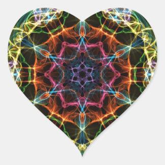 Amazement Heart Sticker
