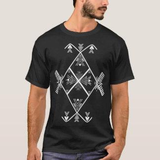 Amazigh Art White design T Shirt