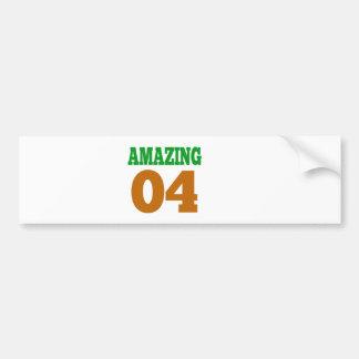 Amazing 04 bumper sticker