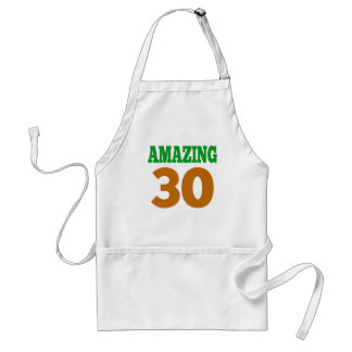 Amazing 30 aprons