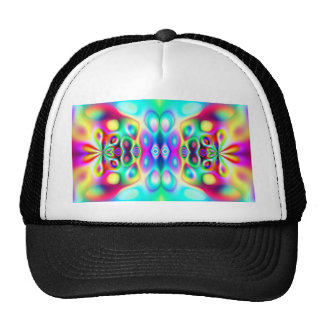 Amazing Abstract Colors Mesh Hats