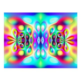 Amazing Abstract Colors Postcards