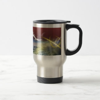 Amazing Abstract Design Stainless Steel Travel Mug