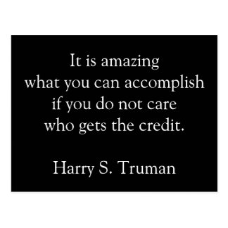 Amazing accomplishments motivational postcard