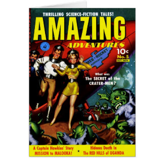 Amazing Adventures - The Secret of the Crater-Men Card