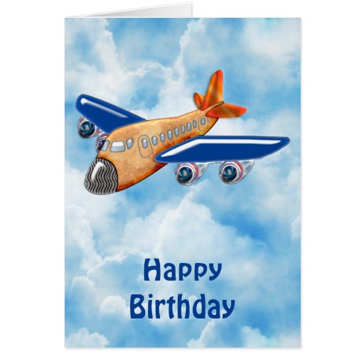 Amazing Airplane Greeting Cards