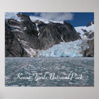Amazing Alaska Glacier Kenai Fjords Poster