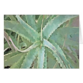Amazing Aloe Vera Card